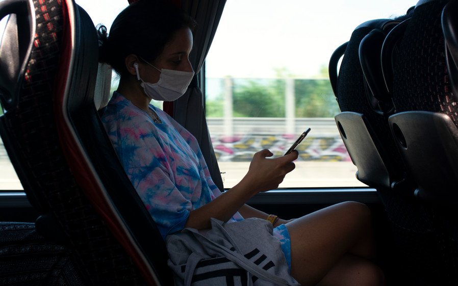 Fli on the bus to Molise (IT) | Italy, July 2020.