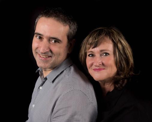 Portrait en studio - couple