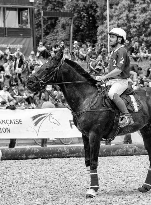 Horse ball aux haras de Jardy