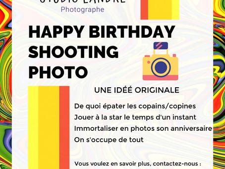 Une idée pour l'anniversaire de votre enfant