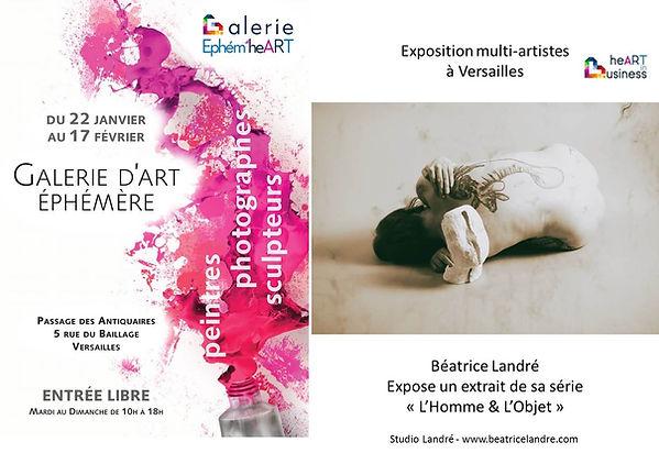 Exposition à Versailles Béatrice Landré