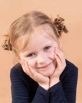 Portrait en studio - enfant
