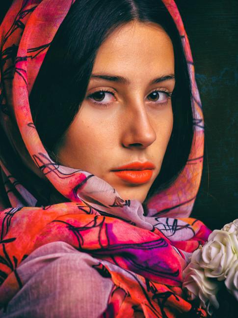 Portrait photographique fine art