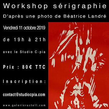 workshop sérigrapie Studiocpia