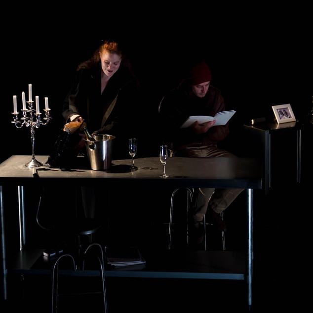 Stavanger d'Olivier SOURISSE avec Sylvia ROUX et Thomas LEMPIRE