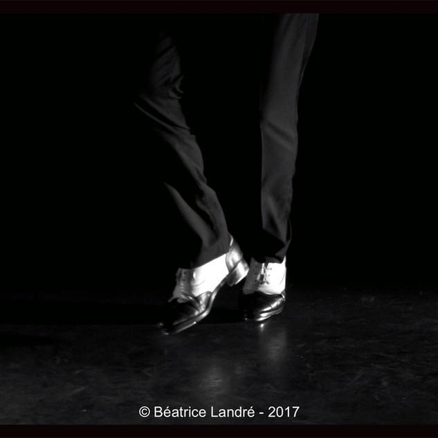 Claquettes Jazz - Fabien Ruiz et Michel Van Der Esch (piano)