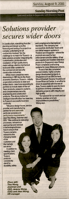 SOUTH CHINA MORNING POST FEATURE