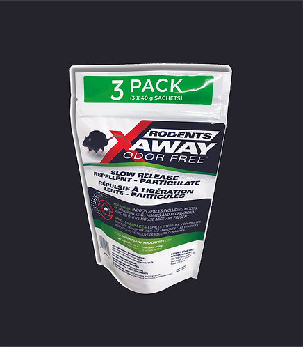 Rodents Away Odor Free  (3) sachets