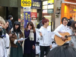 3月11日大宮ホコ天ライブパフォーマンス#28特別編に協力しました!