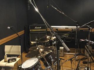 本日はレコーディング。