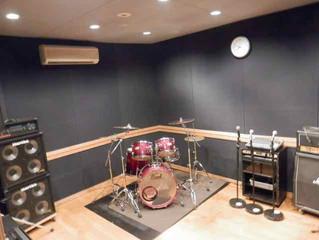 スタジオのレイアウト変更
