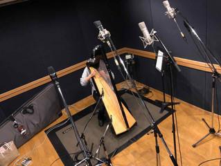 アルパ(中型ハープ)レコーディング