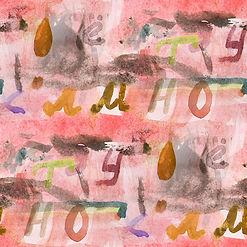 Decorative watercolour image