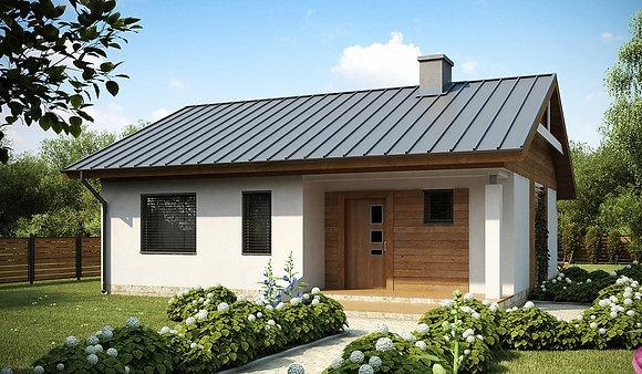 """Проект """"Новара"""" 1этаж , 70.2  кв.м. 2+1, (в получистовой отделке)"""