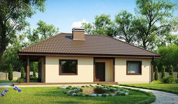 """Проект """"Латина"""" 1этаж , 94.6 кв.м. 2+1, (в получистовой отделке)»»"""