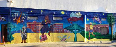 Marc Chagall Returns To Venice Beach - Restoration