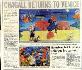 cMarc Chagall Returns To Venice Beach