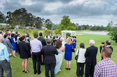 Wedding on the green