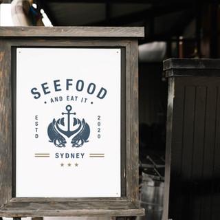 Seefood Restaurant Branding