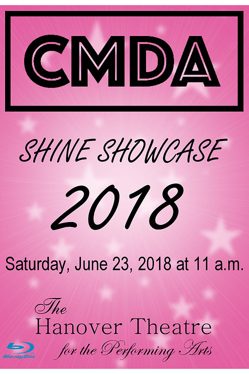 CMDA 11:00 AM SHOW 2018 BLURAY - SHIPPED TO ADDRESS OF CHOICE