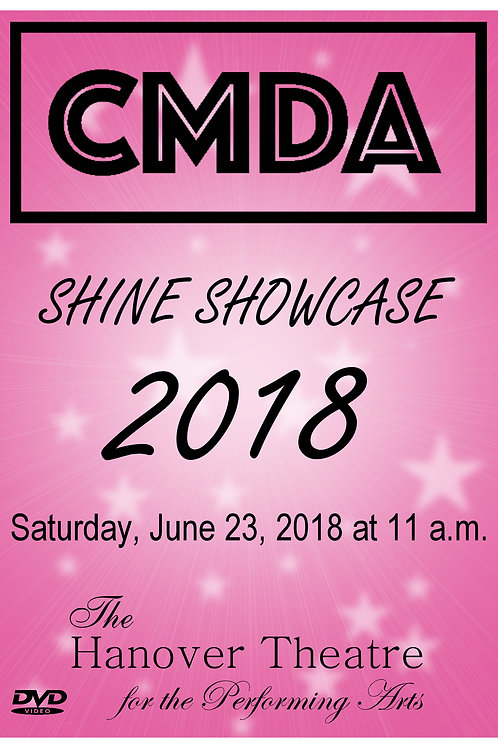CMDA 11:00 AM SHOW 2018 DVD - SHIPPED TO ADDRESS OF CHOICE