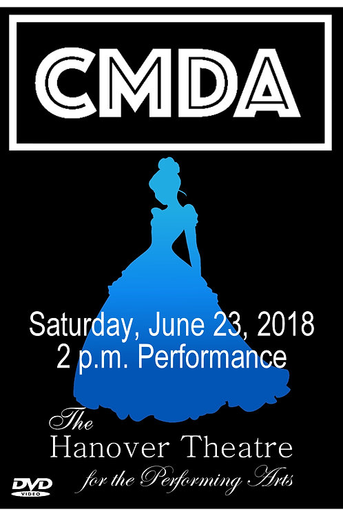 CMDA 2:00 PM SHOW 2018 DVD - SHIPPED TO ADDRESS OF CHOICE