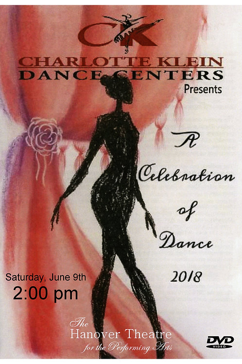 CKDC Recital 1 DVD - Sat., 6/9/18 - 2PM - Shipping Included