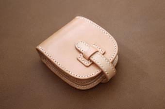 本革サドルレザーのショート財布