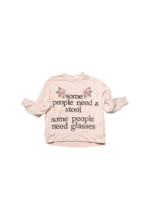 Some People Need Glasses Greeting Card