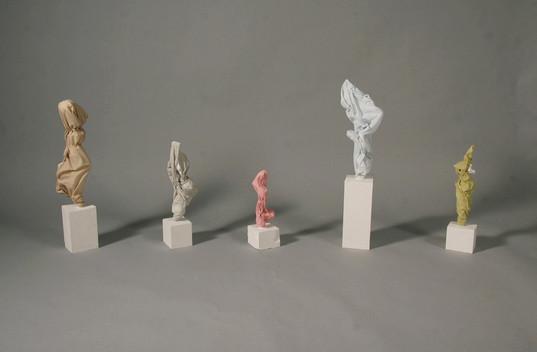 Shrouded Figure #9-13