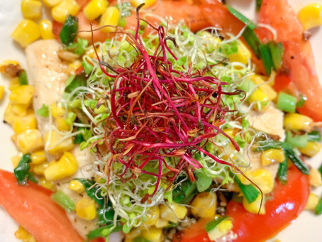 Impromptu Recipe: Mahi Mahi, Tomato, and Quinoa