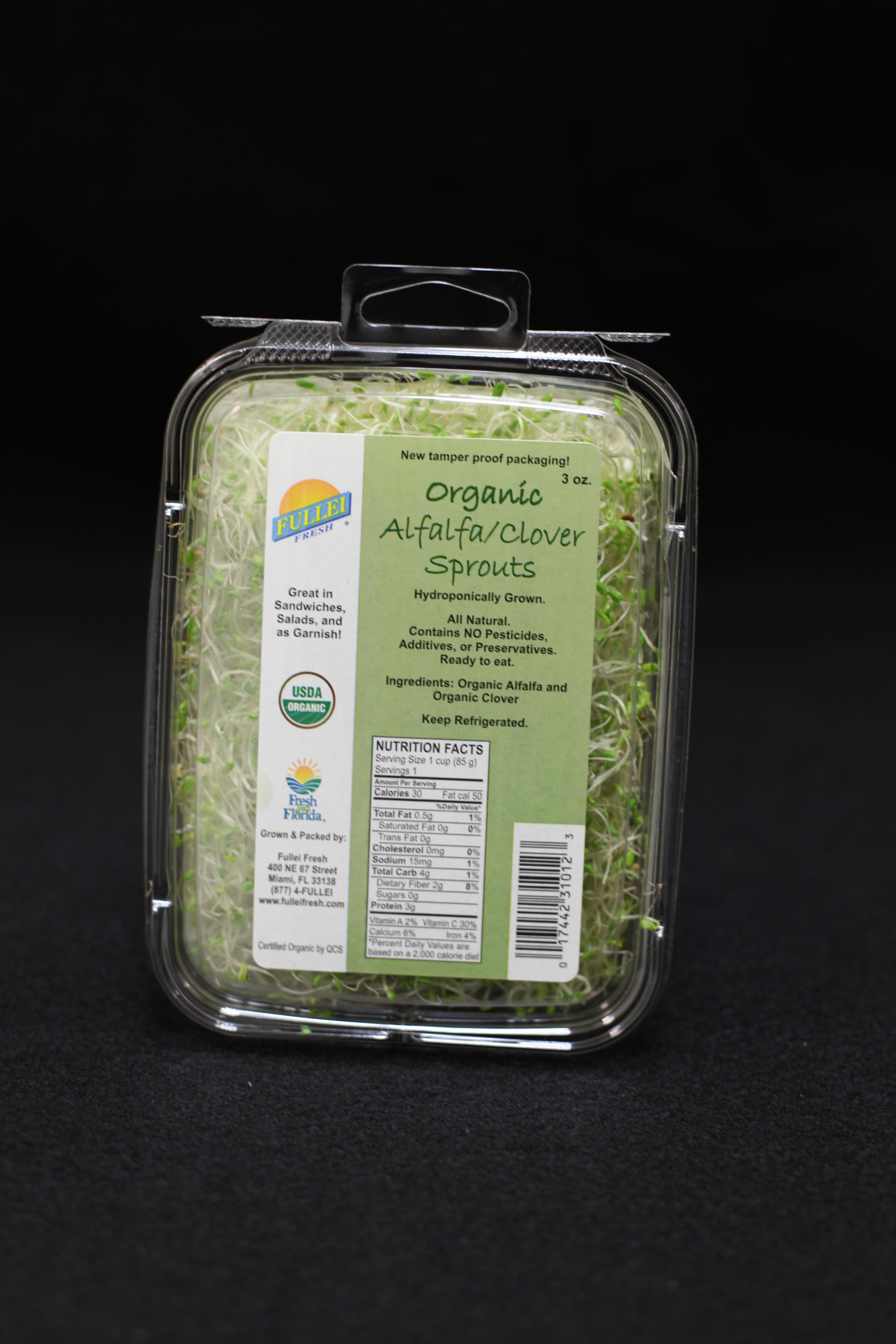 Organic Alfalfa / Clover Sprouts