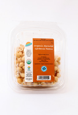 Organic Sprouted Garbanzo Beans