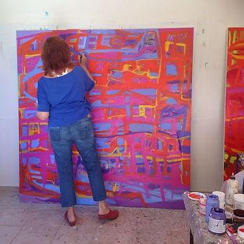 שרה קנול בסטודיו