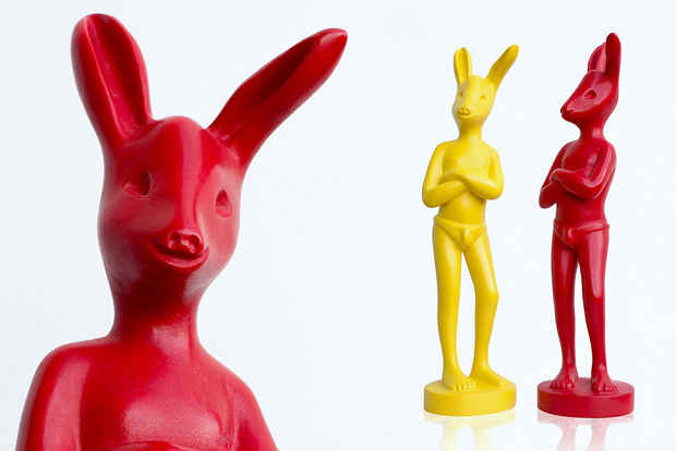[s091] Colorful Rabbits