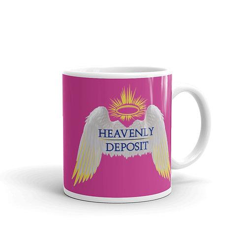 Heavenly Deposit 11 oz Mug - Deep Cervise