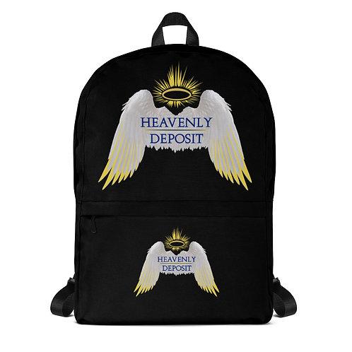Trendy Heavenly Deposit Backpack - Black