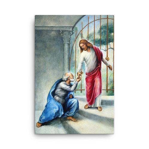 Keys To The Kingdom Canvas  (24 x 36 in)