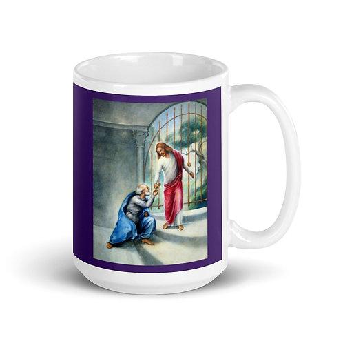 Keys To The Kingdom Mug - 15 oz - Purple