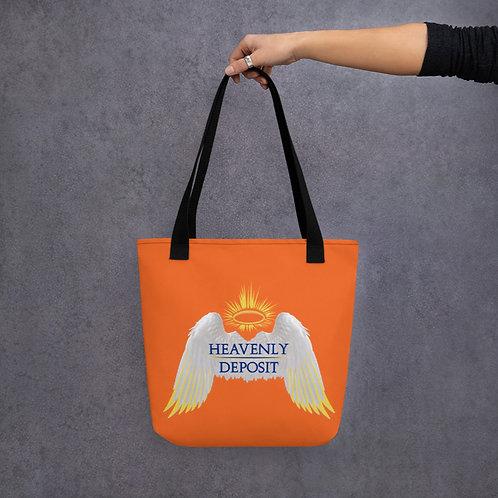 Heavenly Deposit Logo - Orange