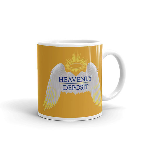 Heavenly Deposit 11 oz Mug - Butter Cup