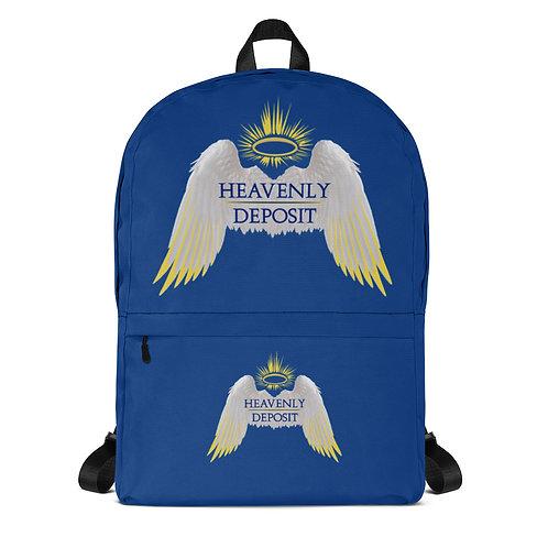 Trendy Heavenly Deposit Backpack - Dark Cerulean