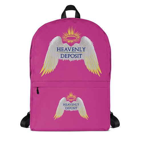 Trendy Heavenly Deposit Backpack - Deep Cervise