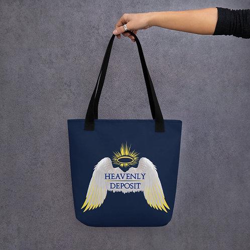 Heavenly Deposit Tote - Navy