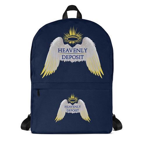 Trendy Heavenly Deposit Backpack - Navy
