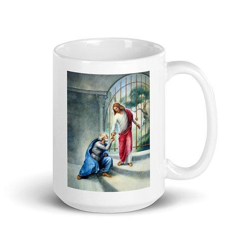 Keys To The Kingdom Mug - 15 oz - White