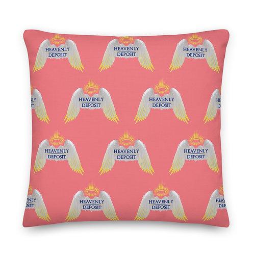 Designer Heavenly Deposit Throw Pillow 22 inch - Froly