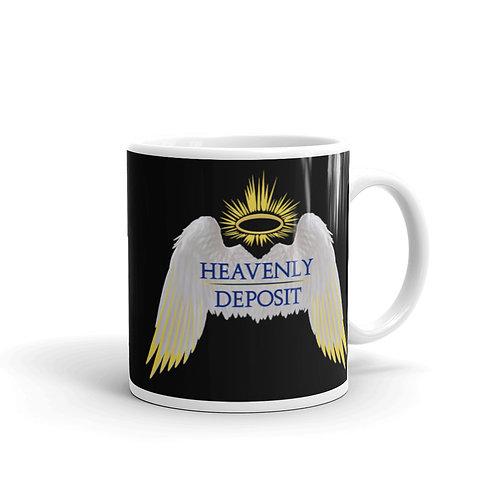 Heavenly Deposit 11 oz Mug - Black