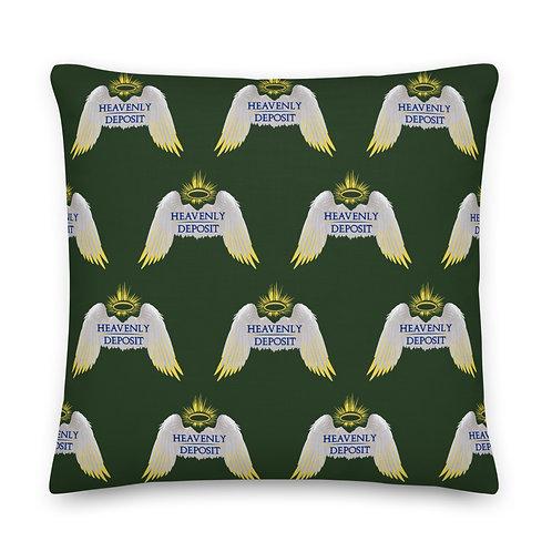 Designer Heavenly Deposit Throw Pillow 22 inch - Myrtle