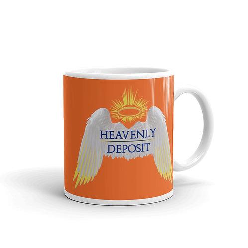 Heavenly Deposit 11 oz Mug - Orange